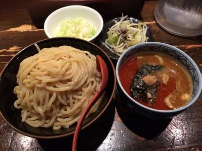 三田製麺所辛つけ麵.JPG
