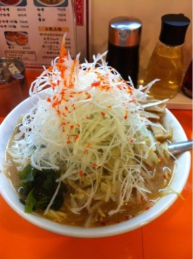 えぞ菊 味噌ラーメン+ネギ.JPG