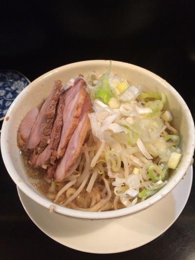 麺や希 ラーメン豚+ネギ.JPG