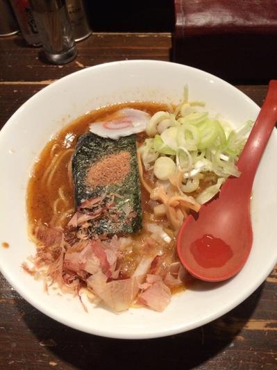 三田製麺所 魚介醤油.JPG