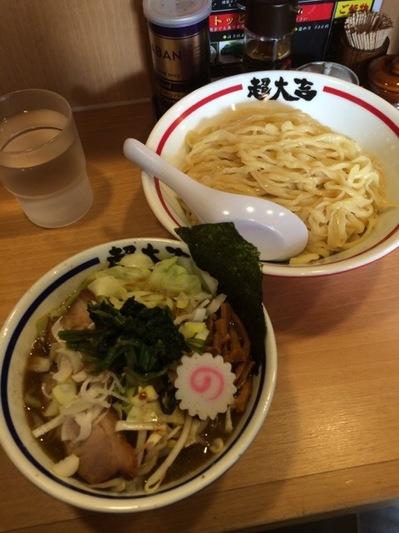 つけめん玉超大吉つけ麺+野菜.JPG