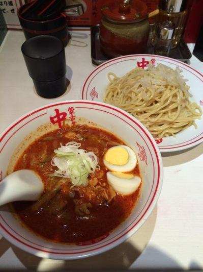 蒙古タンメン中本 冷やし五目味噌タンメン.JPG