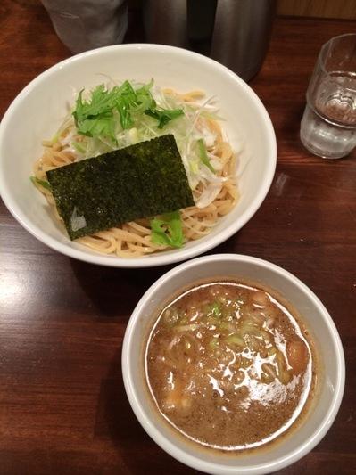 吉祥寺結心ネギつけ麺.JPG