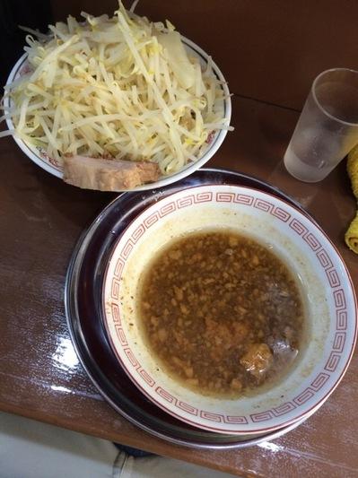 吉祥寺麺でる つけ麺野菜増し.JPG