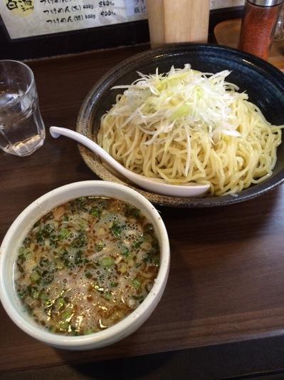 白山 鶏の穴 つけ麺.JPG