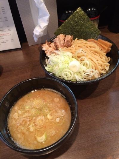 くま神 ネギつけ麺.JPG