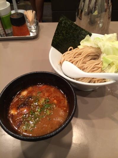 五ノ神製作所 海老味噌つけ麺.JPG